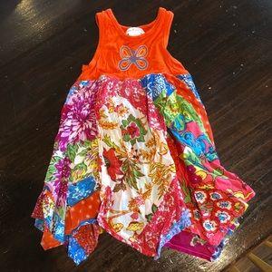 Girls Mimi & Maggie boutique sundress. Size 12m